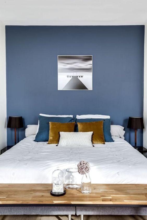 Signification des couleurs Chambre bleue