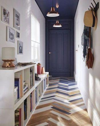 Comment agrandir une pièce couloir