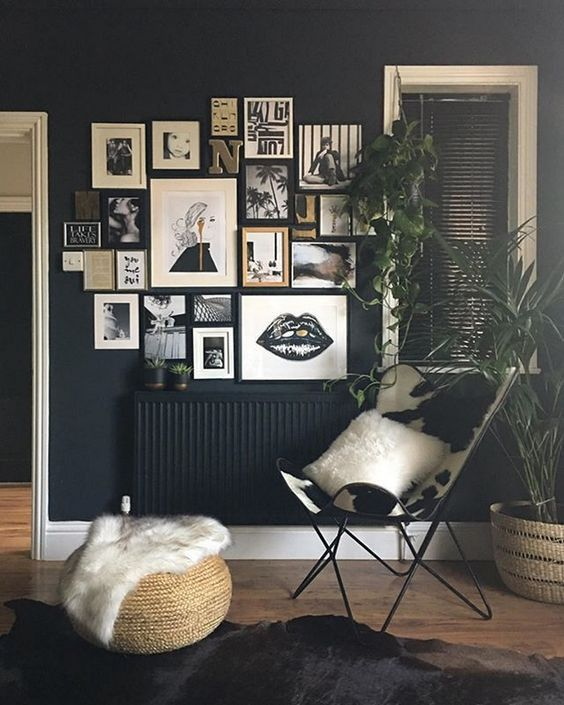 Signification des couleurs salon noir