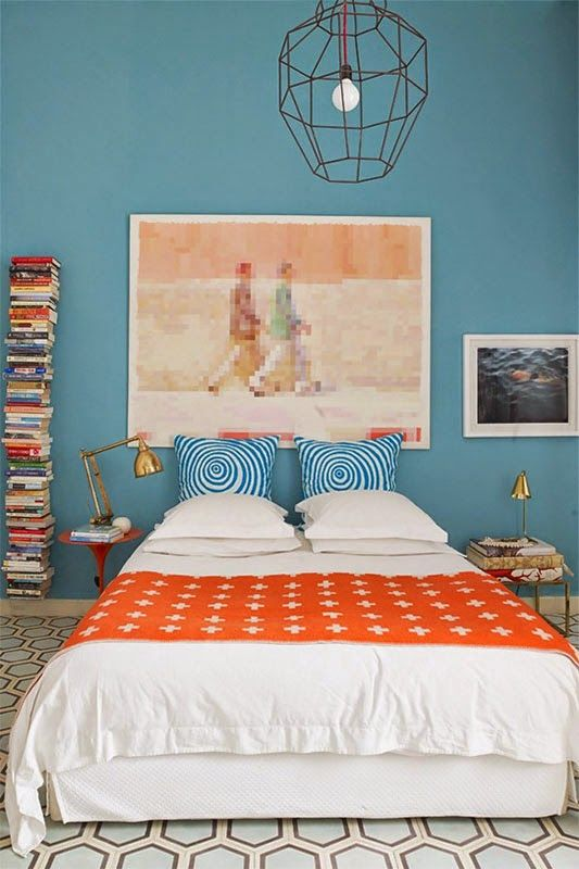 Signification des couleurs Chambre orange