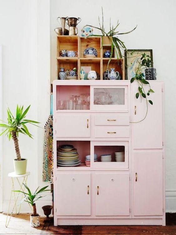 Signification des couleurs Armoire rose