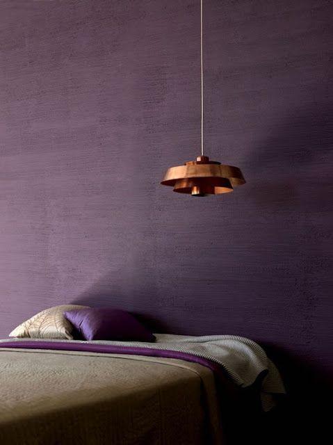 Signification des couleurs Chambre violette