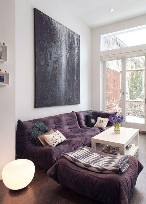Signification des couleurs salon violet