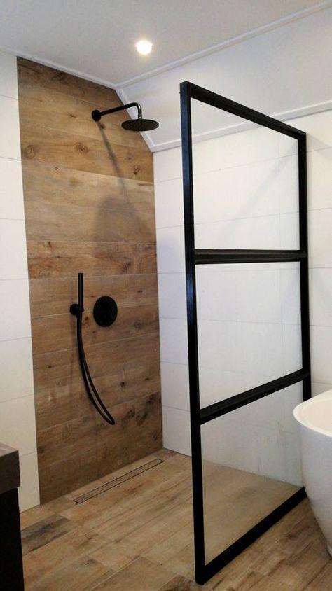 sol salle de bain carrelage bois