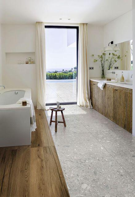 sol salle de bain carrelage grès céramique