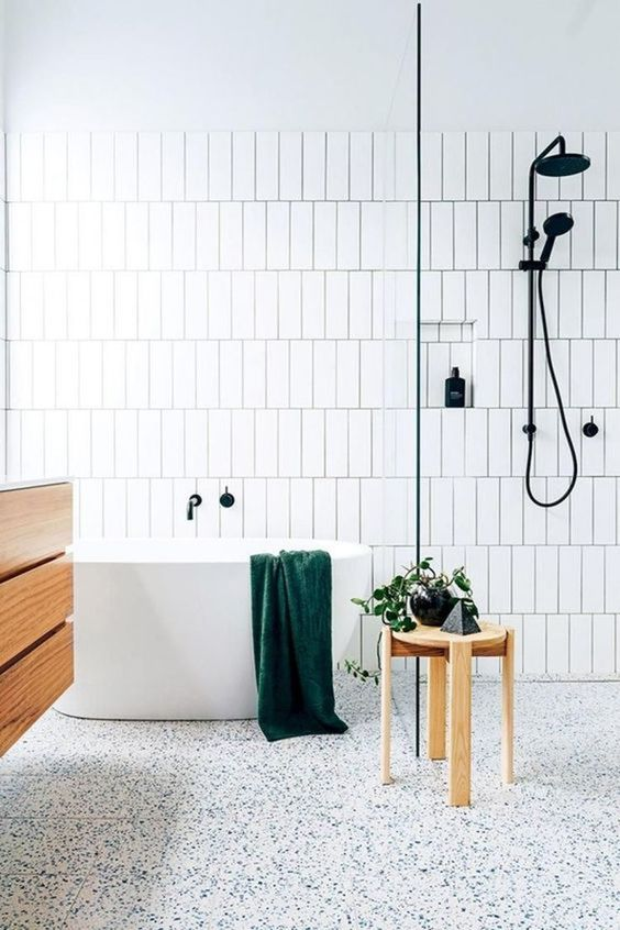 sol salle de bain PVC