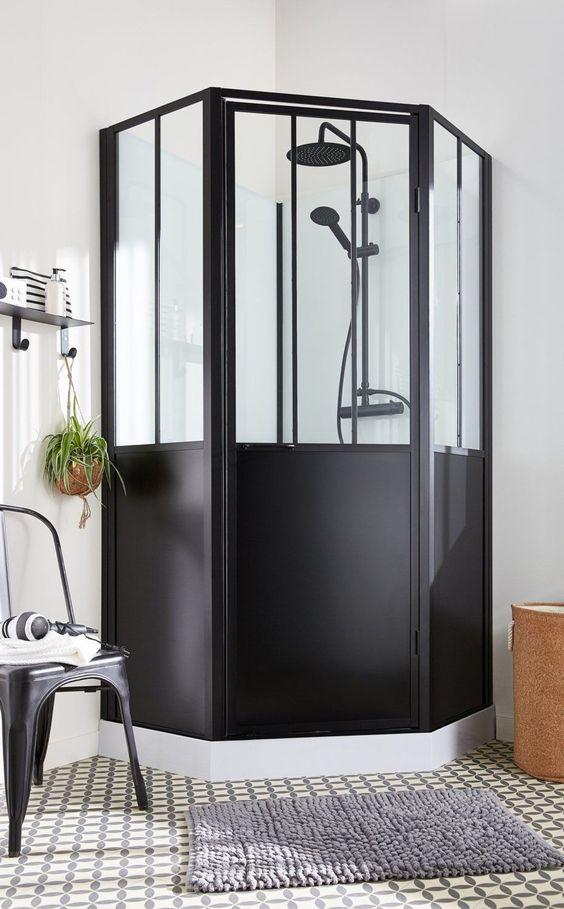 cabine de douche tendance