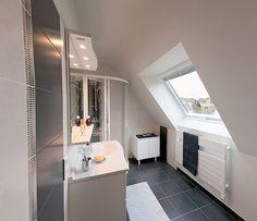 Aménager les combles cabine de douche