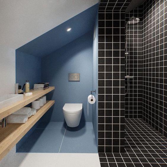 Aménager les combles WC sous pente