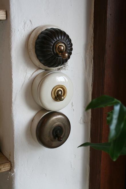 Interrupteurs vintage