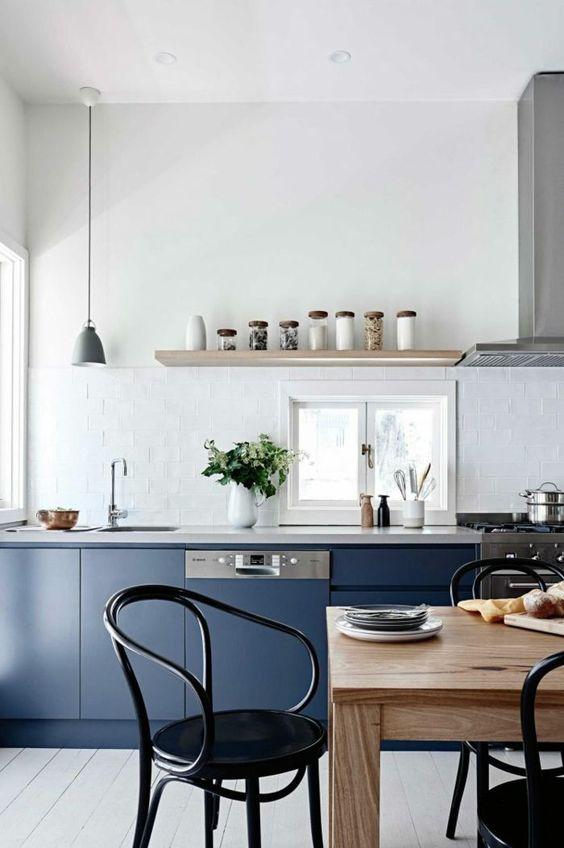 Bretagne moderne cuisine blue